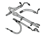 P01 STEERING POWER STEERING-HOSES