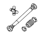 B04 AXLES & SUSPENSION PROPSHAFTS