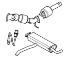 309-03 POWERTRAIN EXHAUST SYSTEMS